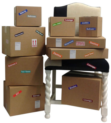 Labels4Kids about labelling boxes for moving house