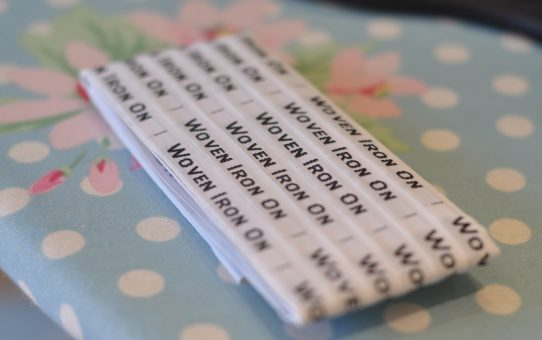woven iron on labels, labels4kids