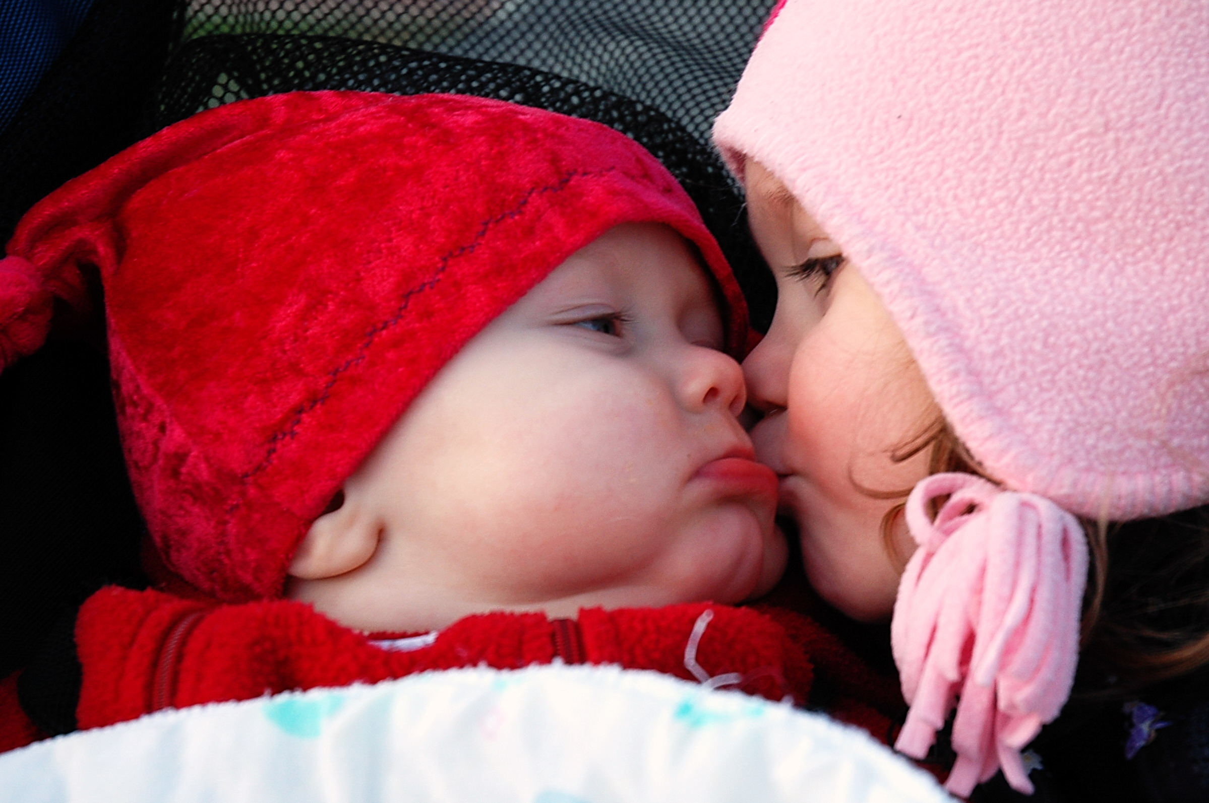 Baby and Child Kiss