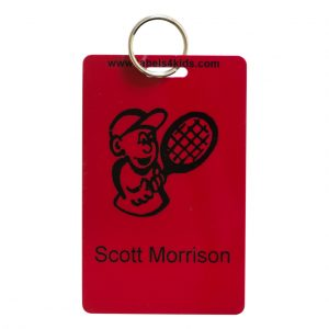 Personalised bag tags for kids