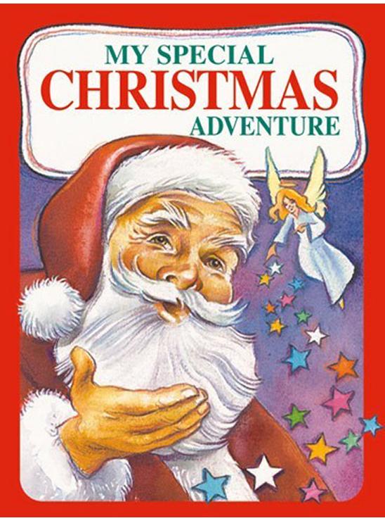 Personalised Christmas adventure book