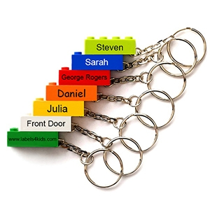 LEGO® key rings