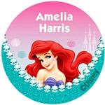 Disney and Nickelodeon vinyl labels