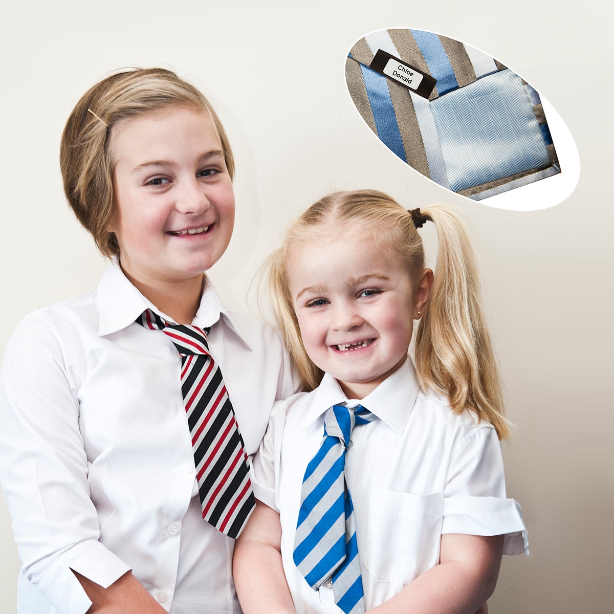 School uniform labels