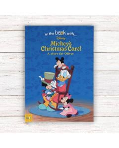 Personalised Disney Mickey's Christmas Carol Book