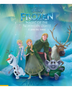 Disney Frozen Northern Lights personalised with your child - front cover