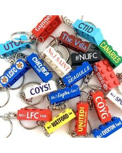football fan keychains - choose your team