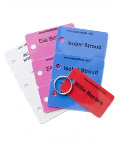 Jacket Name Tags, Labels4kids, three sets and one