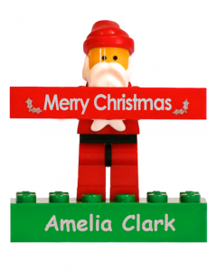 Lego Christmas Santa - Personalised gift from Labels4Kids