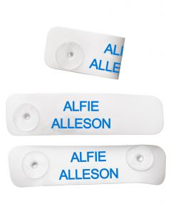 Press and click name tags, labels4kids