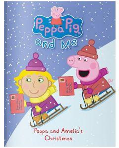Personalised Peppa Pig Christmas Book