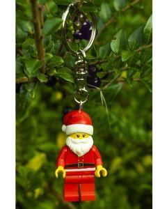 Personalised Santa LEGO Keyring
