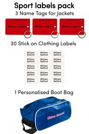 Sport Name Label Pack - Labels4Kids