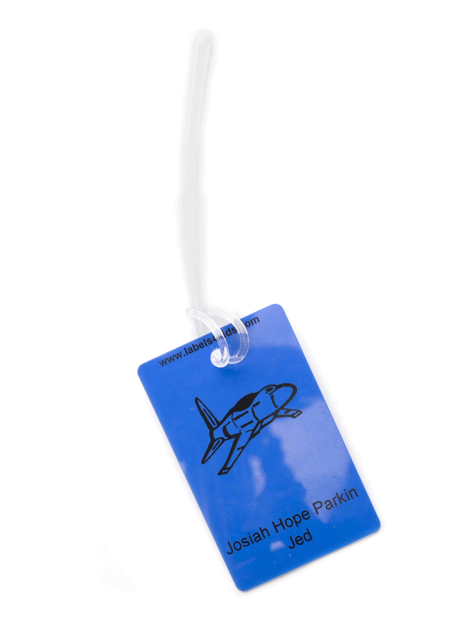 Plastic Loops For Bag Tags And Jacket Tags Labels4kids