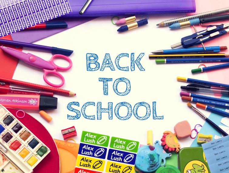 School packs by Labels4Kids