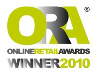 Winner of Internet Retailer of the Year 2010