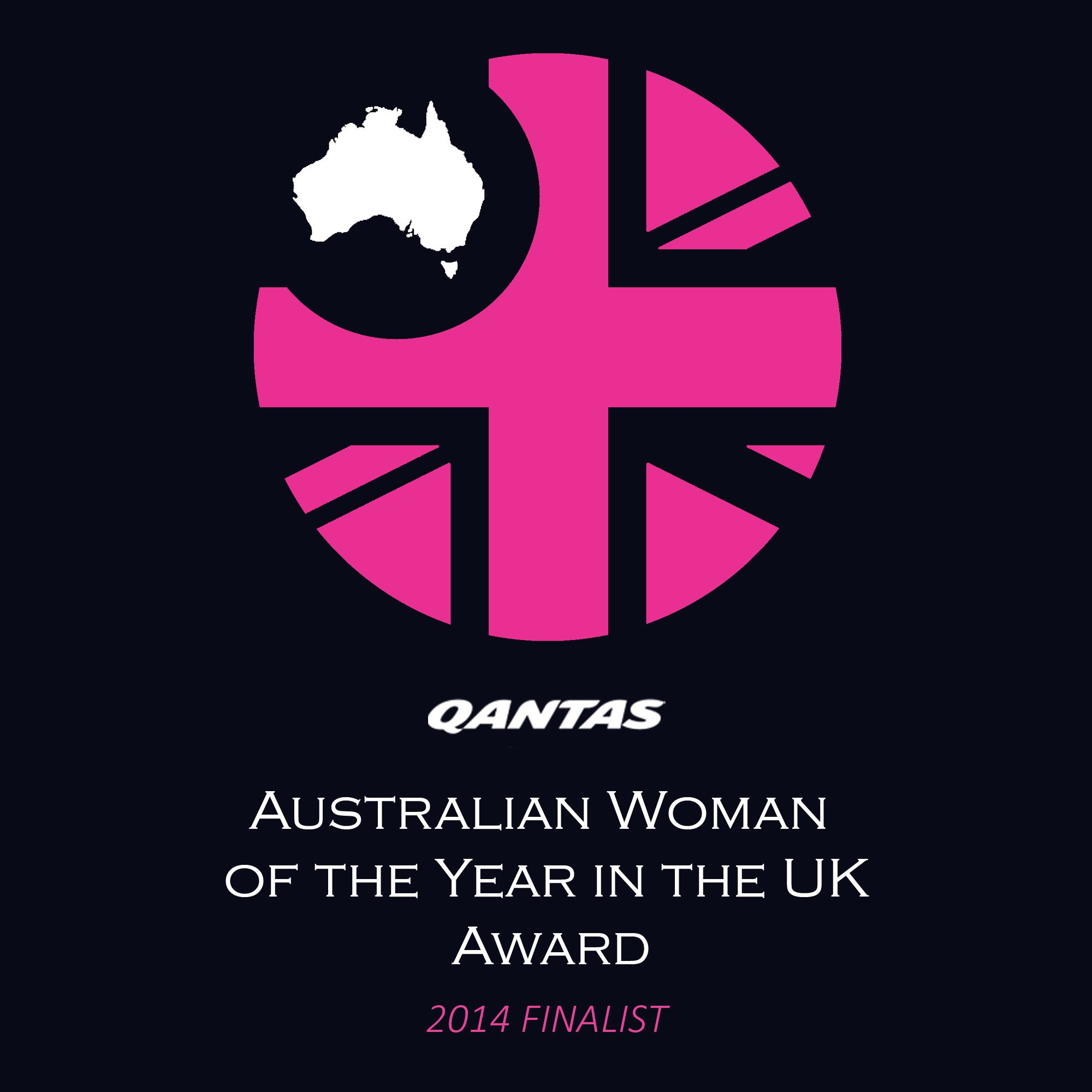 Qantas Australian Woman of the Year in the UK 2014