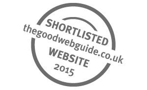 Good Website Guide Shortlisted Business of the Year 2015